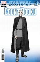 STAR WARS AOR COUNT DOOKU #1 CONCEPT VAR - MARVEL COMICS - USA - H717