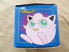 Pokémon Red Ball Case with 23K Gold Plate Trading Cards Jigglypuff in Blue Box
