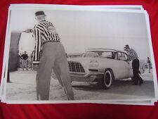 1957 CHRYSLER 300C HARDTOP NASCAR AT DAYTONA BEACH   BIG 11 X 17  PHOTO  PICTURE