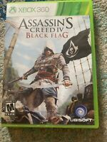Assassin's Creed IV 4: Black Flag (Xbox 360) 2013 No Manual Good Condition 1DISC