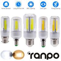 LED Corn COB Light Bulbs E26 E27 E12 B22 E14 12W 16W Ultra Bright For Home Decor