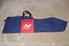 MINELAB ~ ACCESSORIES ~ DELUXE HEAVY DUTY ~ CARRYING BAG ~ BLUE & RED ~ NEW