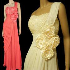Chiffon One Shoulder Formal Regular Size Dresses for Women