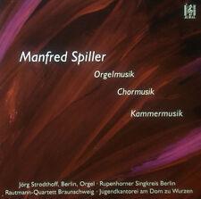 CD MANFRED SPILLER - komponistenportrait,orgelmusik u.a