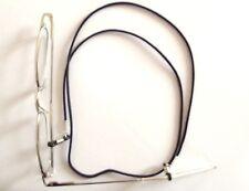 Cordon pour lunettes * Noir * 68 cm * Ski * Lecture *