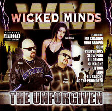 Chicano Rap Wicked Minds CD The Unforgiven NEW Sealed Explict [PA] East side rec