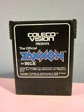 Coleco Vision Zaxxon Video Game