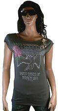 WOW Elegantly Waisted by Amplified Led Zeppelin Rock Star américaine 77 strass