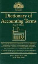NEW - Dictionary of Accounting Terms (Barron's Business Guides)
