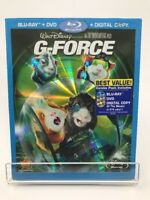 G-Force (Blu-ray/DVD, 2009, 3-Disc Set,) Slip Cover