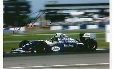 Damon Hill, Williams FW16 Renault.Sutton signed 12x8 photo Silverstone F1