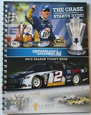 2013 Chicagoland Speedway Used Season Ticket Book Parking Passes Vouchers Nascar