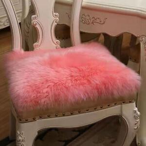 100% Genuine Lambskin  Sheepskin Rug Soft Fluffy Carpet Seat Pad