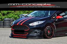 CUP Spoilerlippe für Ford Fiesta JA8 MK7 SPORT FL Frontspoiler Spoilerschwert