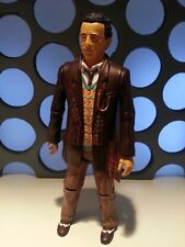 """7th Doctor Who Serious Face Sylvester McCoy 5"""" Classic Figure Seventh 11 Dr Set"""