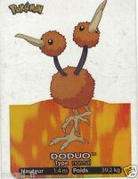 Pokemon lamincards n° 084 - DODUO (A2963)