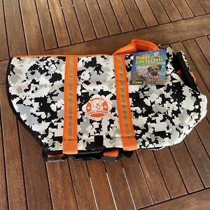 Paws Aboard Doggy Life Jacket Size XL New with Tags  Reflective Dog Life Vest
