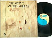 the Mothers of Invention The Worst Of The Mothers SE 4754 LP Vinyl Record Album