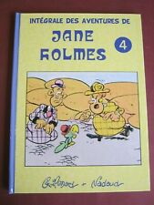 GUILMARD NADAUD INTEGRALE DES AVENTURES DE JANE HOLMES Tome 4 FORMULE 1 NEUF