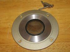 Sansui T-192 Tweeter Speaker Cover Plate-Pm-C100-W/Screws Ec