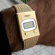 """MICROMA LCD Gold Plated """"NON FUNZIONANTE DA REVISIONARE"""" For PARTS '70 NOS 02.02"""