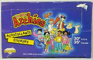 1989 DIAMOND * THE NEW ARCHIES * ALBUM STICKERS * 50 PACK BOX * ULTRA RARE
