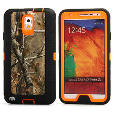 For Samsung Galaxy Note 3 Heavy Duty Shockproof Camo Rugged Hybrid Case Cover