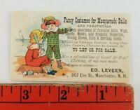 Vintage Costumes Masquerade Balls Theatre Manchester New Hampshire Business Card