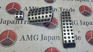 MERCEDES BENZ R129 PADS ON THE PEDALS A2034300084 A1702900182 A1703000082