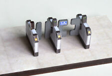 AUTOMATIC TICKET BARRIERS LASER CUT KIT OO SCALE 1:76 MODEL RAILWAY LX083-OO