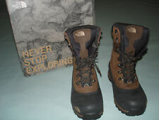 Mens NORTH FACE Extreme Cold -40 Waterproof Boots SIZE 9.5 Verbera Utility New !