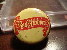 Saskatoon Red Ribbon - Canada Cork Beer Bottle Cap - Canadian Crown