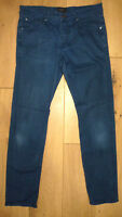 TED BAKER London Mens BLUE SLIM FIT JEANS 32R