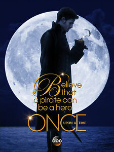 Once Upon A Time Hook OUAT02 A3 POSTER ART PRINT BUY 2 GET 3RD FREE UK SELLER