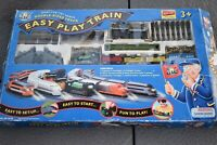 Vintage Easy Play Train Electronic Train Set With Double Sided Railroads