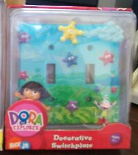 Dora The Explorer 3D Borders Unlimited Double Switch Plate