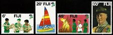 FIJI, 75th. ANNIV. SCOUTING, MINT NEVER HINGED SET, 1982