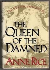 Queen of the Damned by Anne Rice Signed & Inscribed 1st ed.- High Grade