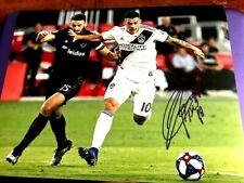 Cristian Pavon Los Angeles Galaxy Autographed 11x14 Photo    COA
