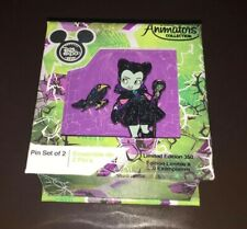 Disney D23 Expo 2019 Maleficent Animator Pin Set Limited of 350 New with Box