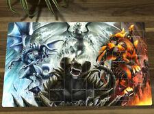 Yu-Gi-Oh! Blaster Dragon &Tempest Dragon Playmat  CCG TCG Yugioh Gaming Play Mat