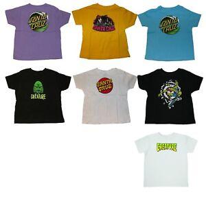 SPITFIRE / SANTA CRUZ / CREATURE  Assorted Kids Toddler Baby Skateboard Clothing