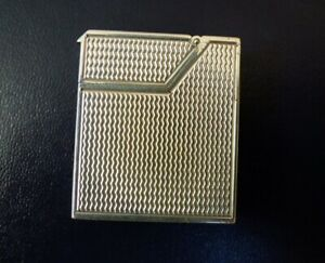 Dunhill Miniature Broadboy MK1 Lighter - Silver Plated - Excellent