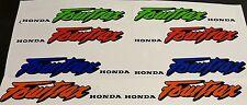 1989 HONDA TRX 250R FOURTRAX DECALS GRAPHICS STICKERS EMBLEMS FENDER TANK COWEL