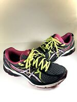 Asics Gel-Flux 3 T664N Black Pink Mesh Athletic Running Shoes Women's Size 9