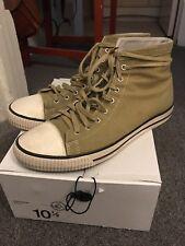 Visvim Kiefer Hi Khaki 10.5 Skagway FIL Sneakers