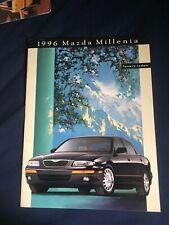 1996 Mazda Millenia Luxury Sedan Original Color Brochure Prospekt