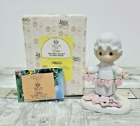 Precious Moments Enesco Figurine: You Have Touched So Many Hearts E-2821 Trumpet