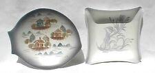 "Lot of 2 ""Sascha Brastoff"" Mid-Century Modern Pottery Items"