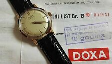 doxa red gold 18 kt mm 34 autmatic movement fullset 1978 very nice condition